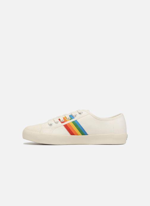 Sneakers Gola COASTER RAINBOW Wit voorkant