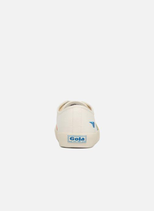 Baskets Gola COASTER RAINBOW Blanc vue droite