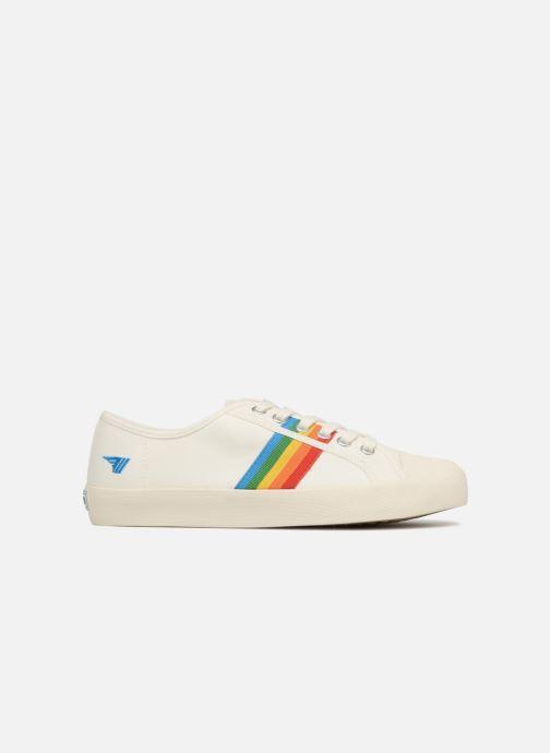 Sneakers Gola COASTER RAINBOW Wit achterkant