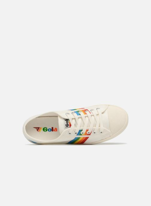 Sneaker Gola COASTER RAINBOW weiß ansicht von links