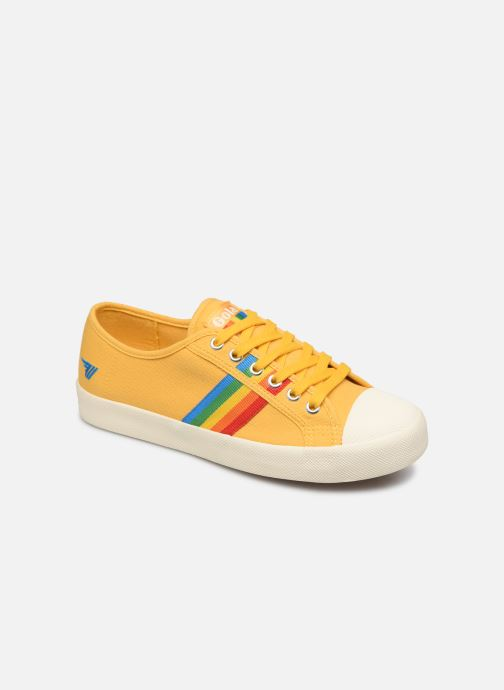 Baskets Gola COASTER RAINBOW Jaune vue détail/paire