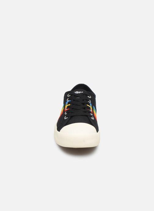 Baskets Gola COASTER RAINBOW Noir vue portées chaussures