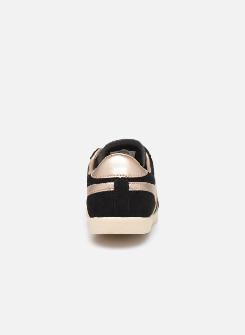 Trainers Gola BULLET PEARL Black view from the right