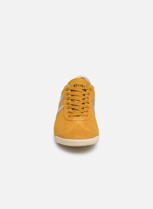 Sneaker Gola BULLET PEARL gelb schuhe getragen