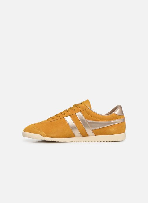 Trainers Gola BULLET PEARL Yellow front view