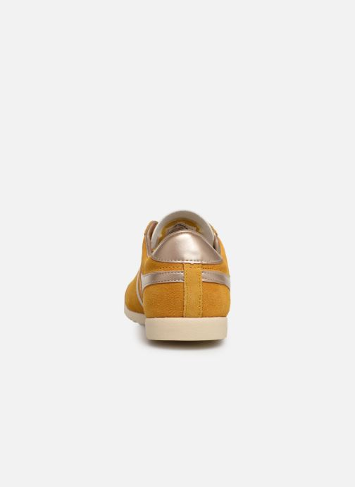 Trainers Gola BULLET PEARL Yellow view from the right