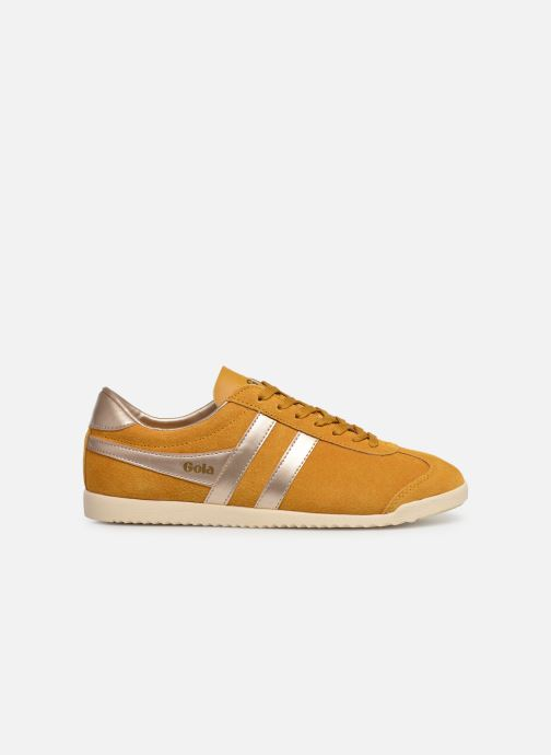 Trainers Gola BULLET PEARL Yellow back view
