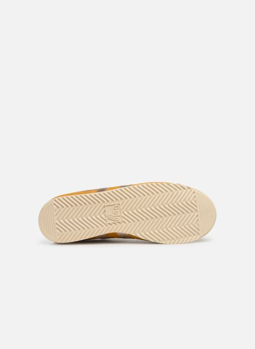 Trainers Gola BULLET PEARL Yellow view from above