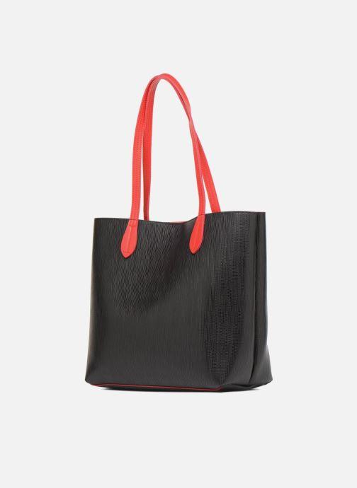 Chez noir Woman Sacs Cabas 317528 Main À Lpb Bicolore S0T1Tq