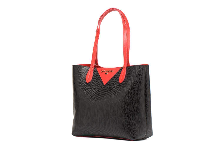 bicolore Noir Cabas LPB Woman LPB XqwAxHT