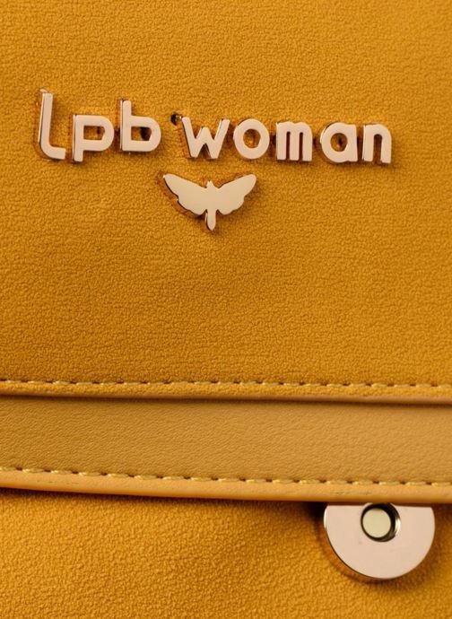 Sacs à main LPB Woman Sac chaîne LPB Jaune vue gauche