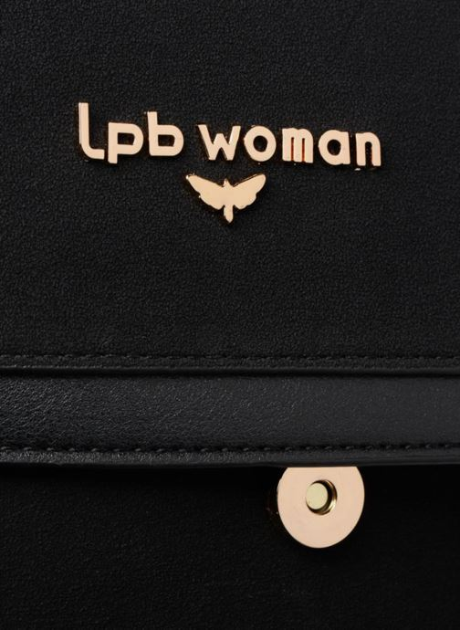 Sacs à main LPB Woman Sac chaîne LPB Rouge vue gauche