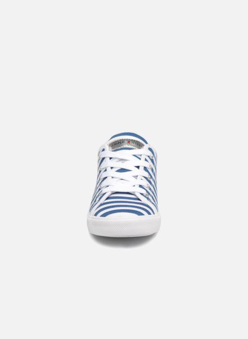 Baskets Tommy Hilfiger Tommy 0446 Bleu vue portées chaussures