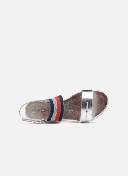 Sandales et nu-pieds Tommy Hilfiger Tommy 0131 Argent vue gauche