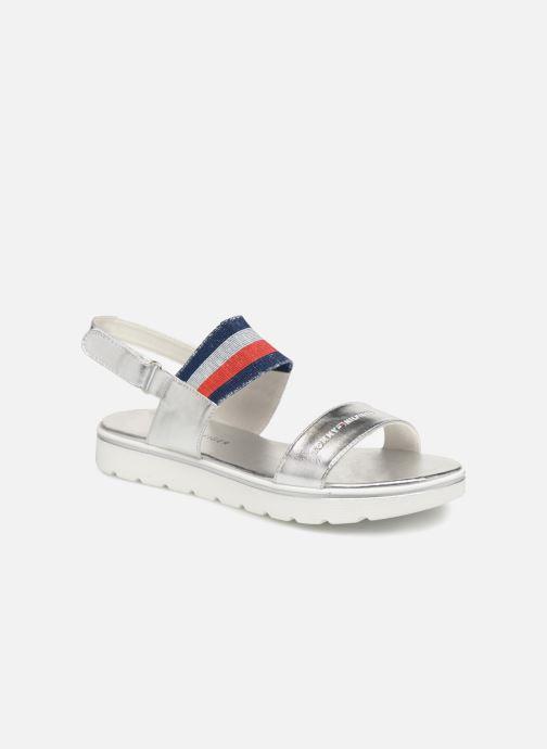 Sandales et nu-pieds Tommy Hilfiger Tommy 0131 Argent vue détail/paire