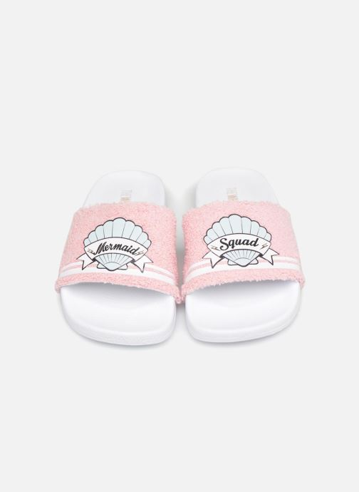Sandales et nu-pieds TheWhiteBrand Mermaid J Rose vue portées chaussures