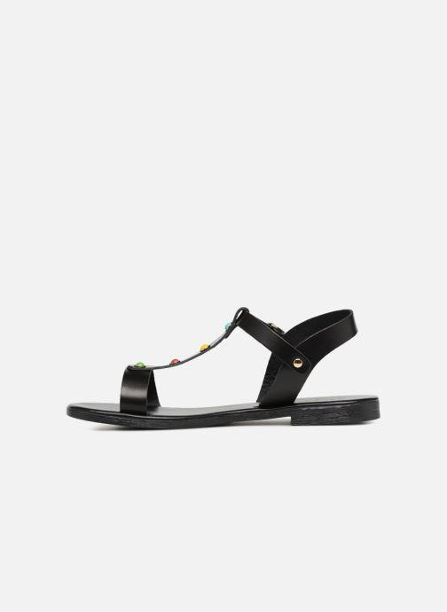 Sandales et nu-pieds Georgia Rose Miperlou Noir vue face