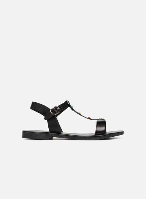 Sandales et nu-pieds Georgia Rose Miperlou Noir vue derrière