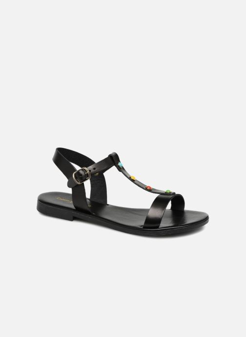 Sandales et nu-pieds Georgia Rose Miperlou Noir vue détail/paire
