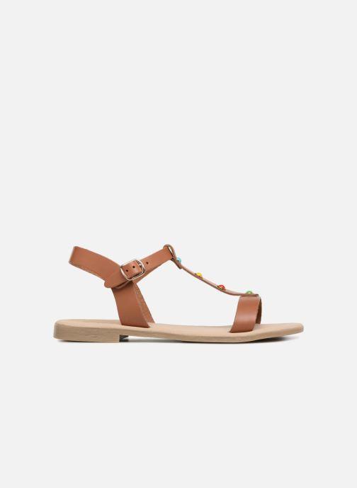 Sandales et nu-pieds Georgia Rose Miperlou Marron vue derrière