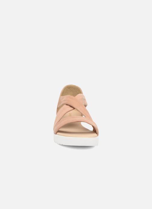 Sandales et nu-pieds Georgia Rose Milena Soft Beige vue portées chaussures