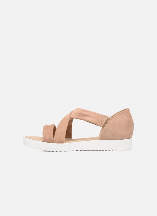 Sandales et nu-pieds Georgia Rose Milena Soft Beige vue face