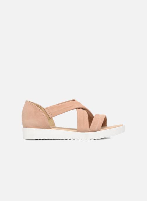 Sandales et nu-pieds Georgia Rose Milena Soft Beige vue derrière