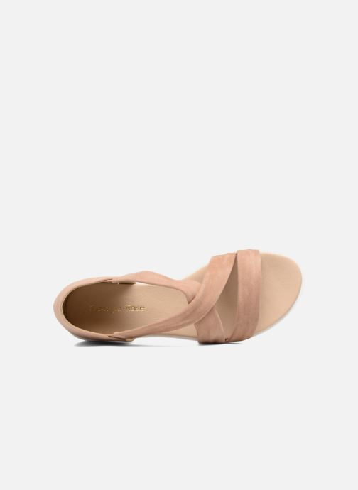 Sandales et nu-pieds Georgia Rose Milena Soft Beige vue gauche
