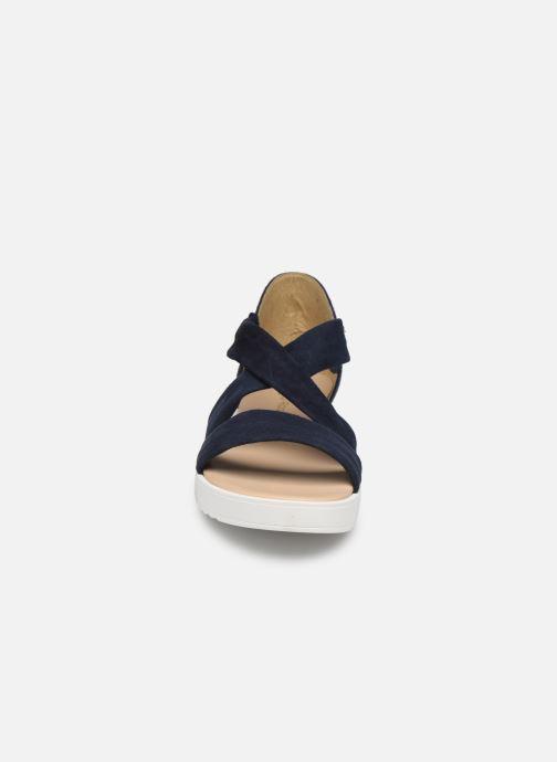 Sandales et nu-pieds Georgia Rose Milena Soft Bleu vue portées chaussures