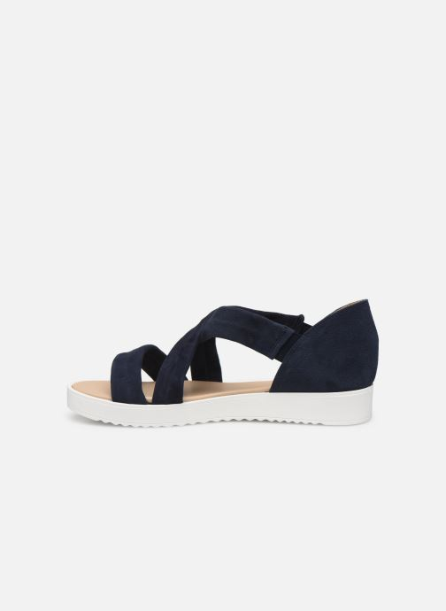 Sandales et nu-pieds Georgia Rose Milena Soft Bleu vue face