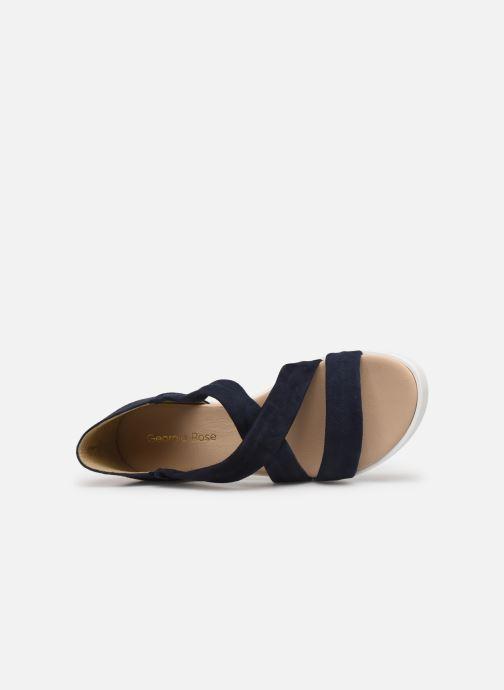 Sandales et nu-pieds Georgia Rose Milena Soft Bleu vue gauche