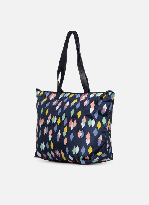 Handbags Esprit Cleo Shopper Blue model view