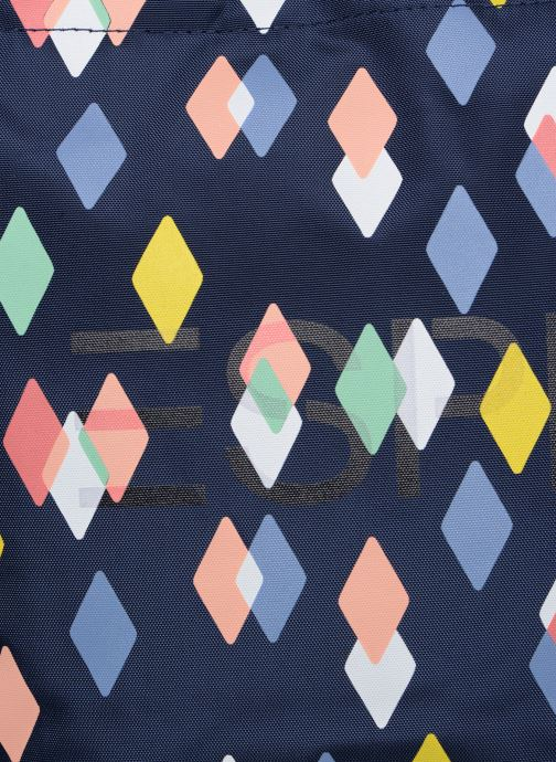 Bolsos de mano Esprit Cleo Shopper Azul vista lateral izquierda