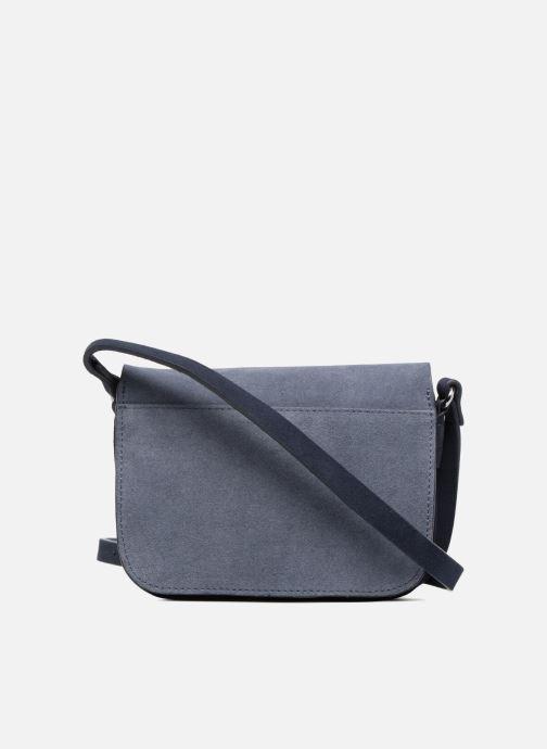 Sacs à main Esprit Bea Suede Small Shoulder Bag Bleu vue face