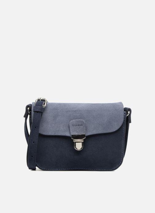 Sacs à main Esprit Bea Suede Small Shoulder Bag Bleu vue détail/paire