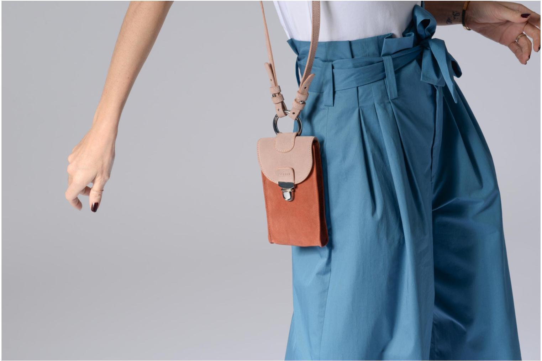 Bag Suede BLUE Belt LAVAND Esprit 425 Bea FBxX55wt