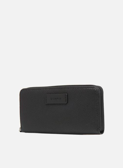 Pelletteria Esprit Christy Zip Around Wallet Nero modello indossato