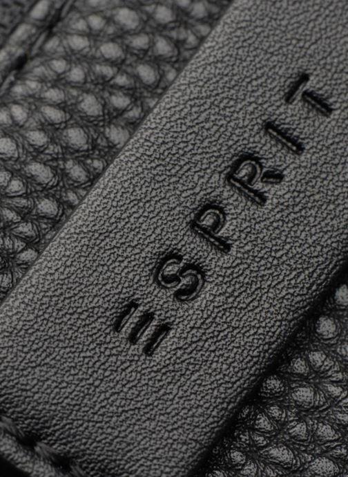 Pelletteria Esprit Christy Zip Around Wallet Nero immagine sinistra