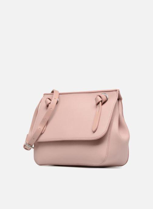 Borse Esprit Coco Shoulder Bag Rosa modello indossato