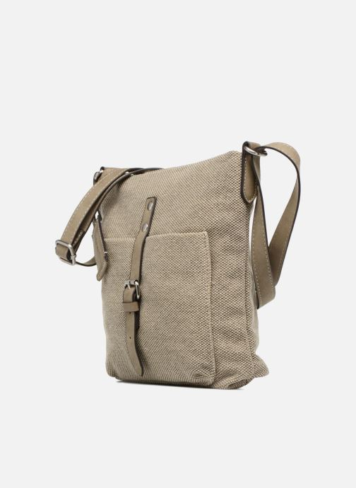 Bolsos de mano Esprit Phyliss Shoulder Bag Beige vista del modelo