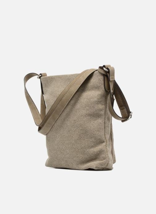 Handbags Esprit Phyliss Shoulder Bag Beige view from the right