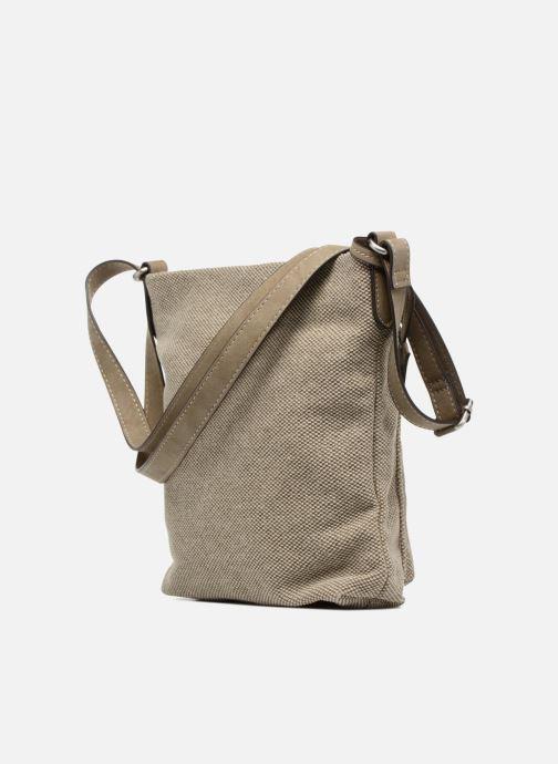 Bolsos de mano Esprit Phyliss Shoulder Bag Beige vista lateral derecha