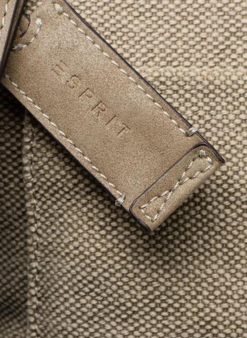 Handbags Esprit Phyliss Shoulder Bag Beige view from the left