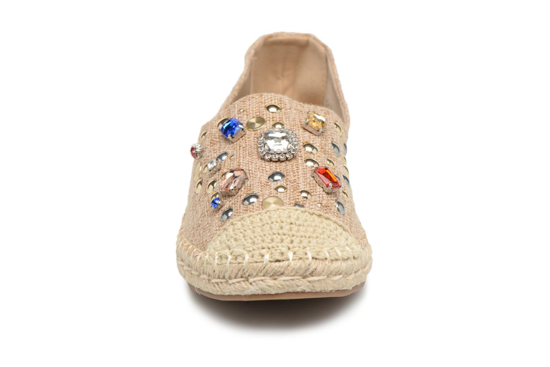 Espadrilles Refresh Vuki Marron vue portées chaussures