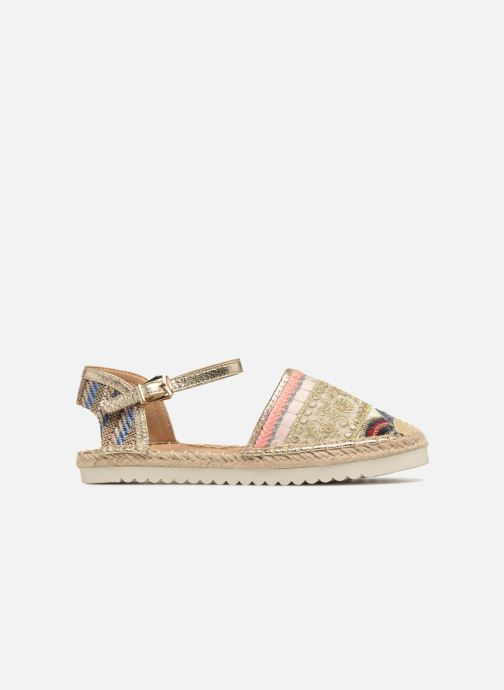 Espadrilles Refresh Tima Bronze and Gold back view