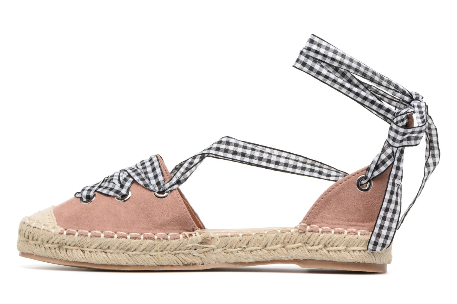 Espadrilles Refresh Ruban Rose vue face