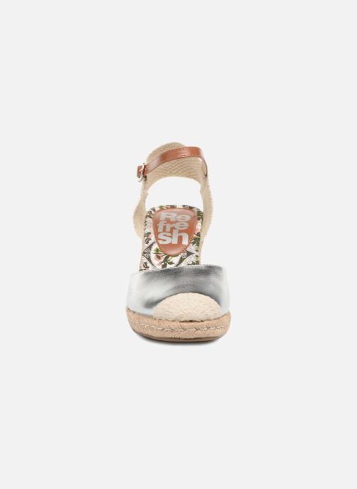 Espadrilles Refresh Clek Argent vue portées chaussures