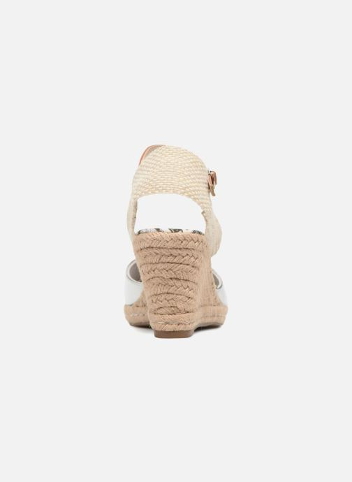 Espadrilles Refresh Clek Silver view from the right