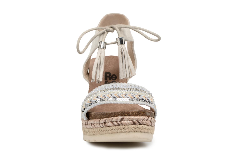 Sandales et nu-pieds Refresh Boxi Gris vue portées chaussures