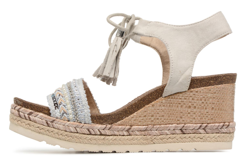 Sandales et nu-pieds Refresh Boxi Gris vue face